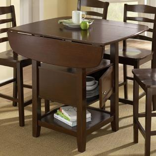 Dining set with storage make entertaining convenient with for Sears dining room sets