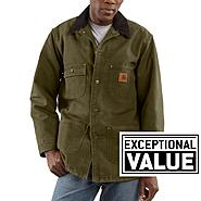 Carhartt, Inc Chore Coat Blanket Lined Sandstone at Sears.com