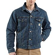 Carhartt, Inc Denim Jean Jacket Sherpa Lined at Sears.com