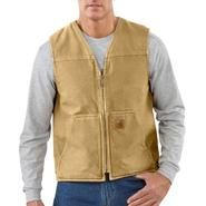 Carhartt, Inc Rugged Vest Sherpa Lined Sandstone at Sears.com