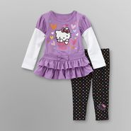 Hello Kitty Infant Girl's T-Shirt Dress & Leggings at Sears.com