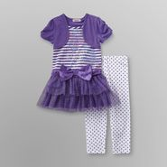 Girl Code Girl's Tutu Dress & Leggings - Butterfly Studs at Sears.com