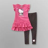Hello Kitty Girl's T-Shirt Dress and Leggings at Sears.com