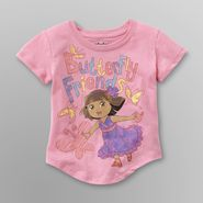 Dora the Explorer Dora Toddler Girl's Graphic T-Shirt - Butterfly Friends at Sears.com