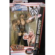 WWE Big Show - WWE WrestleMania 28 Pay Per View Elite Exclusive Toy Wrestling Action Figure at Kmart.com