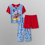 Disney Mickey Mouse Toddler Boy's Pajamas Set - 3 Pc. at Sears.com
