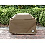 "Kenmore Elite Tan Grill Cover - Fits 65"" x 26"" x 46"" at Kmart.com"