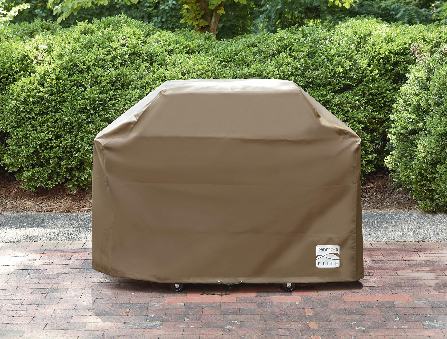 Kenmore Elite  Tan Grill Cover - Fits