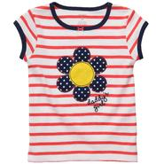 Carter's Toddler Girl's T-shirt Striped Blue Flower 'Daddy's Girl' at Sears.com
