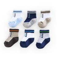 Carter's Infant Boy's Socks 6-Pack Sneakers Multicolor at Sears.com