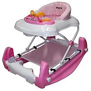 Dream On Me Dynamic 2 in 1 Walker and Rocker In Pink at Sears.com