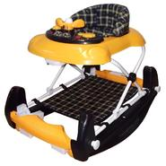 Dream On Me Dynamic 2 in 1 Walker and Rocker In Yellow/ Blue at Sears.com