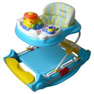 Dream on Me Evolution Entertainment Hub, 2 in 1 Walker and Rocker in Blue at Sears.com