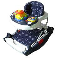 Dream on Me Evolution Entertainment Hub, 2 in 1 Walker and Rocker  in Gray at Sears.com