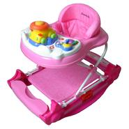 Dream on Me Evolution Entertainment Hub, 2 in 1 Walker and Rocker  in Pink at Sears.com