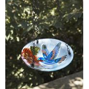 Garden Oasis Hanging Glass Birdbath - Hummingbird at Kmart.com