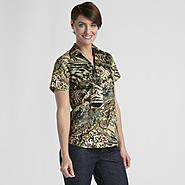 Erika Women's Camp Shirt - Floral/Animal Print at Sears.com