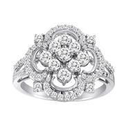 Vedere Le Stelle™ Sterling Silver Cubic Zirconia Fashion Ring at Sears.com
