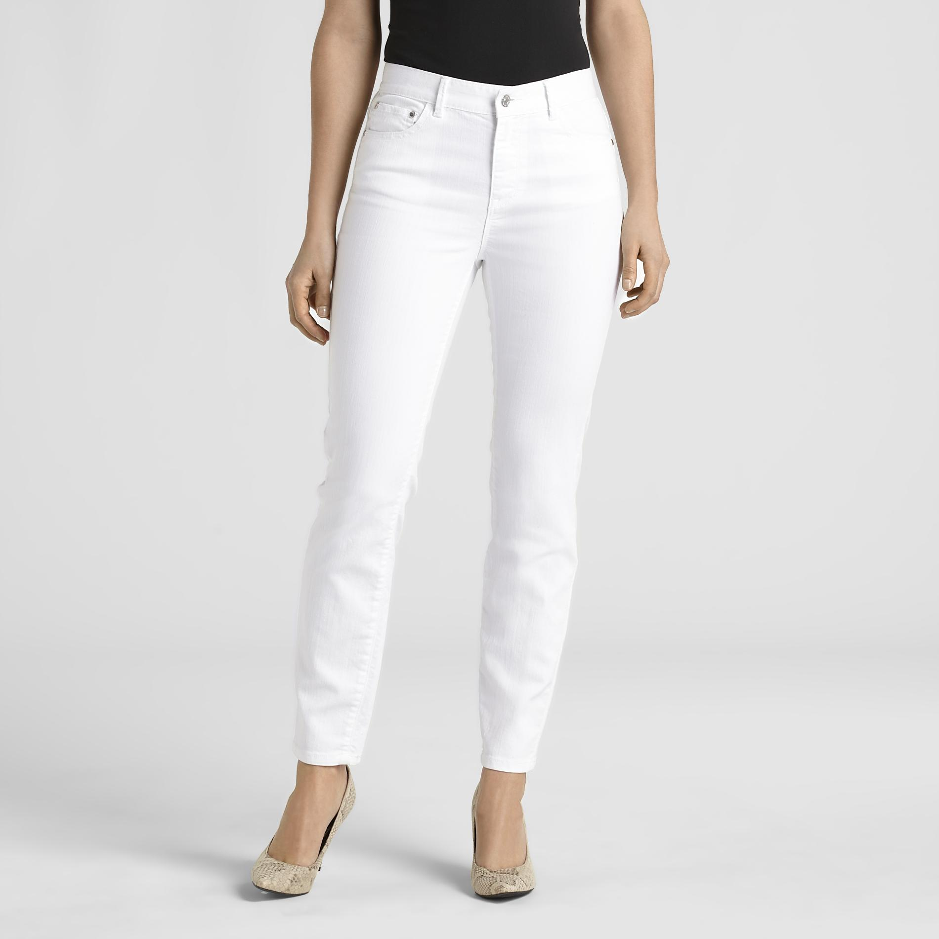 Jaclyn Smith Women's Slim-Stretch Jeans at Kmart.com