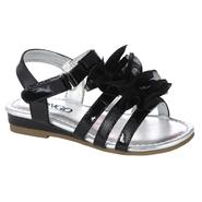 Bongo Toddler Girl's Wedge Sandal Elizabeth - Black at Kmart.com