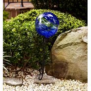 Garden Oasis Glow in the Dark Gazing Ball - Blue at Kmart.com