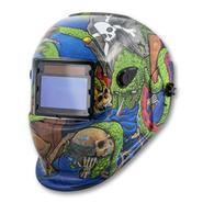 Titan Tools Pirates Life for Me! Auto Darkening Solar Powered Welding Helmet at Sears.com