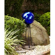 Garden Oasis Metallic Gazing Ball - Blue at Kmart.com