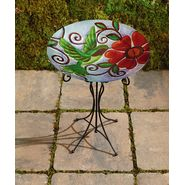 Garden Oasis Glass Birdbath - Hummingbird at Kmart.com