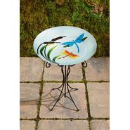 Garden Oasis Glass Birdbath - Dragonfly at Kmart.com