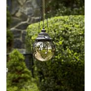 Garden Oasis 8in Solar Hanging Gazing Ball - Silver at Kmart.com