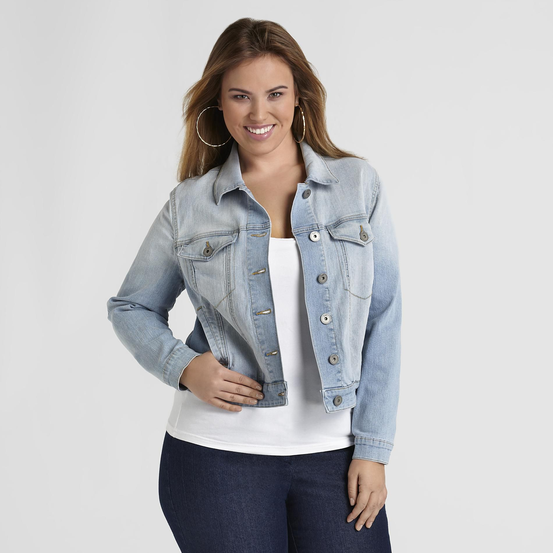 Women's Plus Denim Jacket