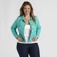 Love Your Style, Love Your Size Women's Plus Cropped Denim Jacket at Kmart.com