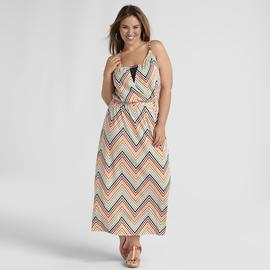 Love Your Style, Love Your Size Women's Plus Surplice Maxi Dress at Kmart.com