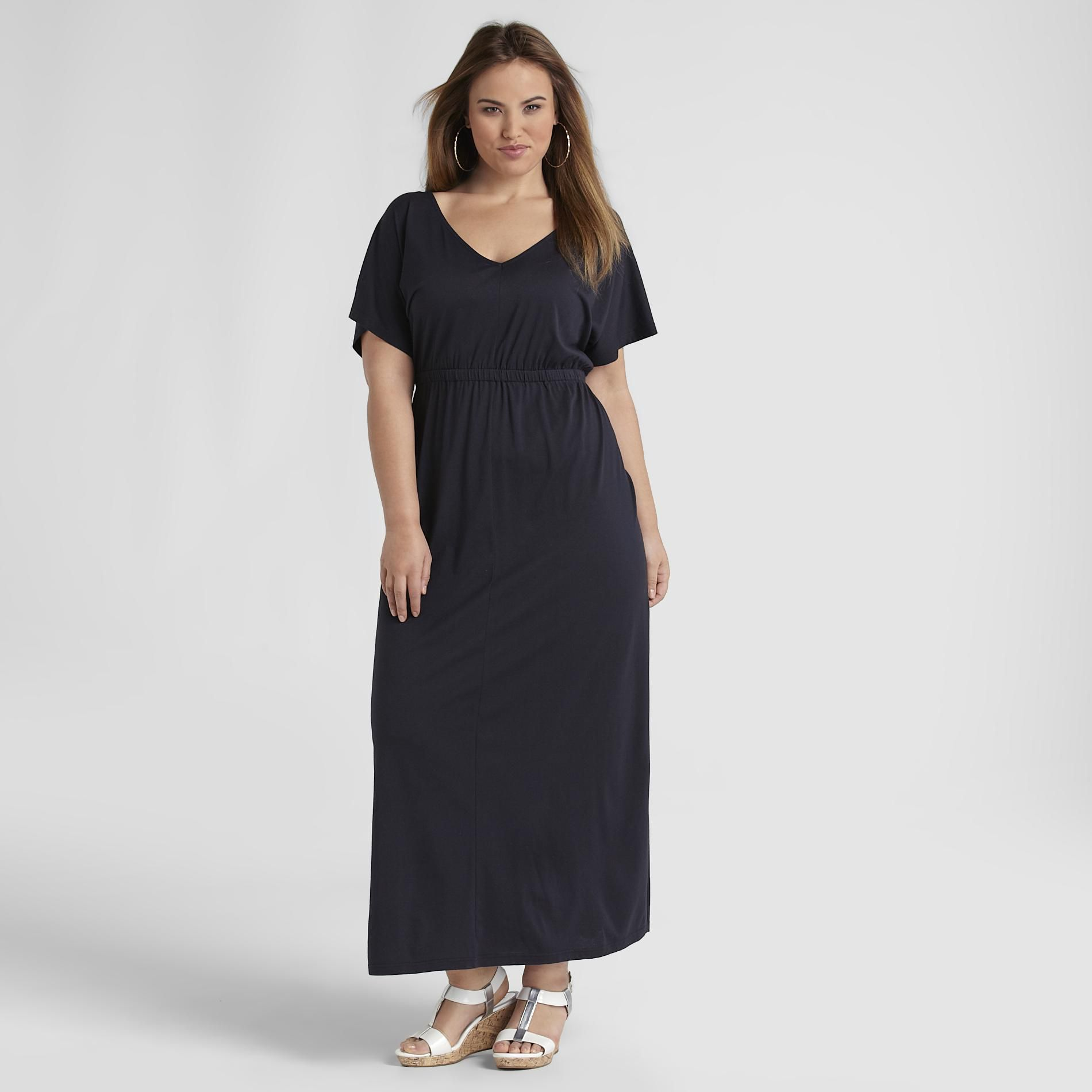 Love Your Style, Love Your Size Women's Plus Kimono Maxi Dress at Kmart.com