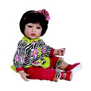 "Adora Dolls Baby Doll, 20  ""Zebra Rose"" Black Hair/Brown Eyes at Sears.com"