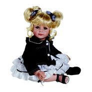 "Adora Baby Doll, 20  ""Denim & White"" Lt. Blond/Brown Eyes at Sears.com"