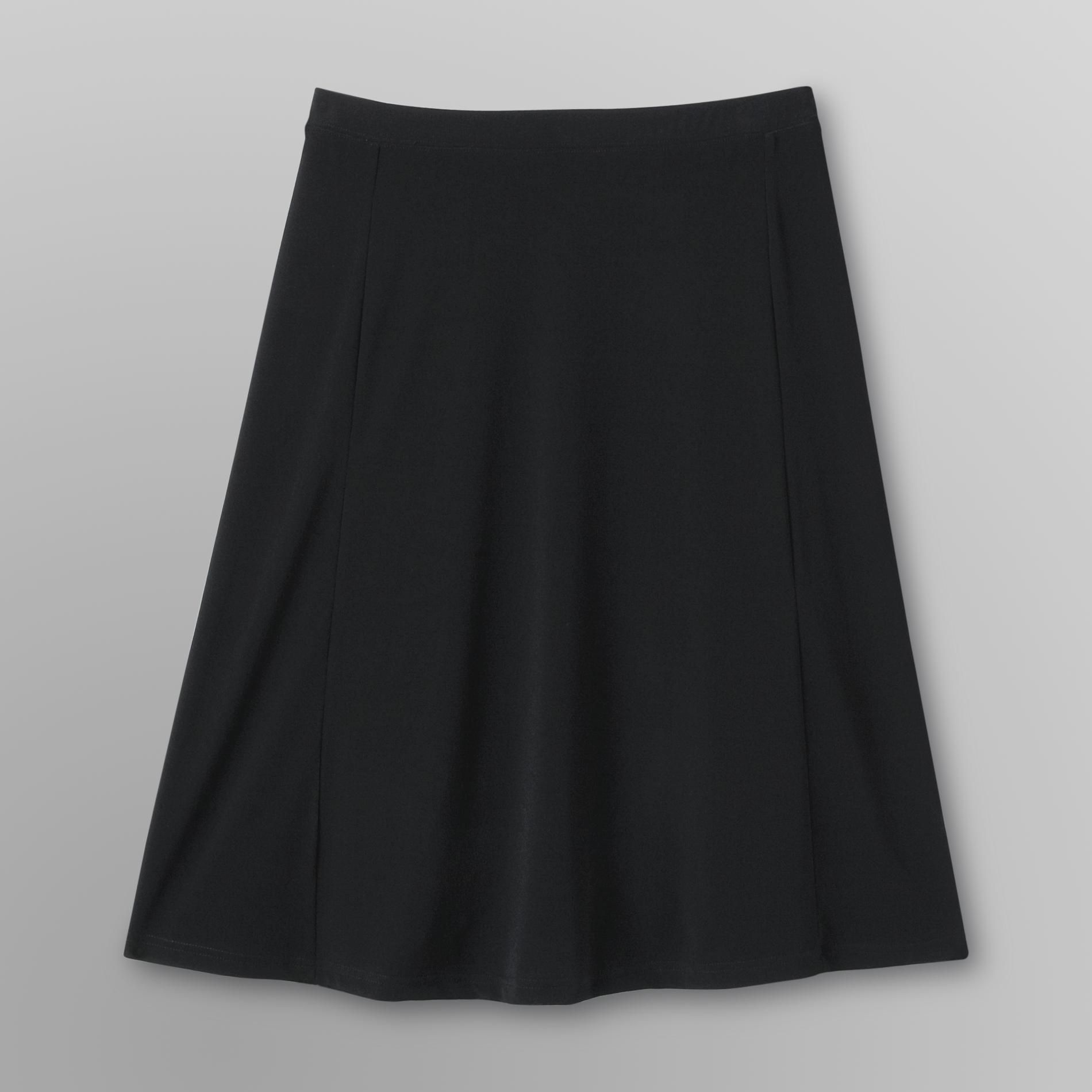 Women's Plus Gored Skirt