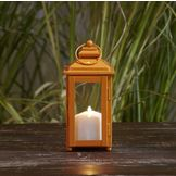 Garden Oasis 9in Solid Color Lantern - Orange at mygofer.com