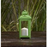 Garden Oasis 9in Solid Color Lantern - Green at mygofer.com