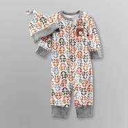 Welcome to the World Infant Boy's Jumpsuit & Cap - Monkey at Kmart.com