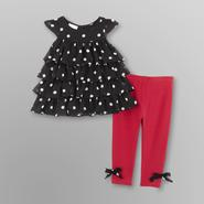 Small Wonders Infant Girl's Jumper & Leggings - Polka Dots at Kmart.com