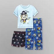 Joe Boxer Infant and Toddler Boy's Jersey Knit Pajama Set - 3 Pc. at Kmart.com