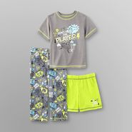 Joe Boxer Toddler Boy's Jersey Knit Pajama Set - 3 Pc. at Kmart.com