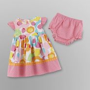 Small Wonders Infant Girl's Poplin Dress & Diaper Cover at Kmart.com