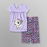 Joe Boxer Toddler Girl's Pajamas - Cat at Kmart.com