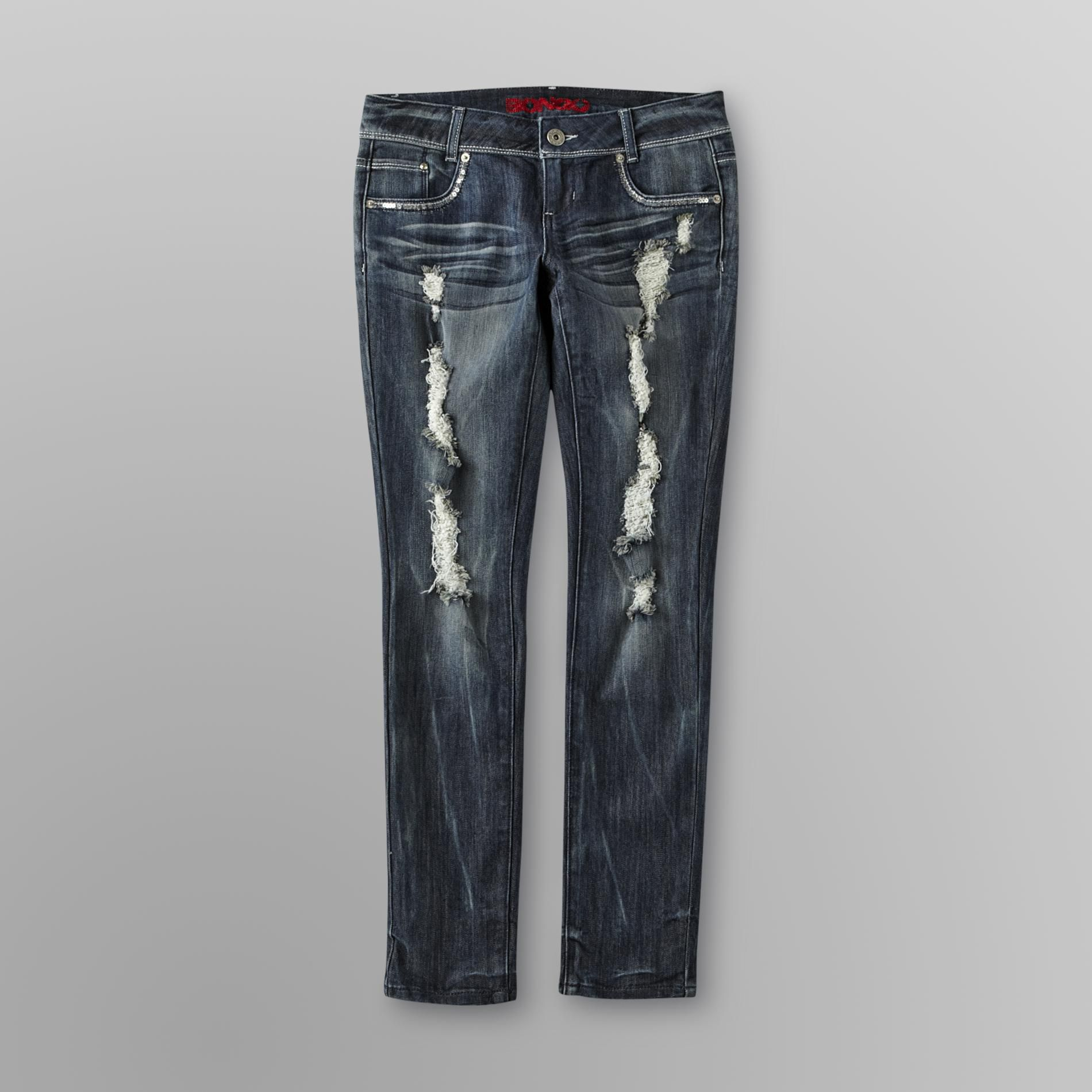 Bongo Junior's Destructed Skinny Jeans at Sears.com