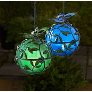 Garden Oasis Solar Ball with Butterfly - Blue at Sears.com