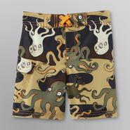 Joe Boxer Infant & Toddler Boy's Board Shorts - Octopus Print at Kmart.com