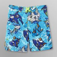 Joe Boxer Infant & Toddler Boy's Board Shorts - Shark Jet Print at Kmart.com