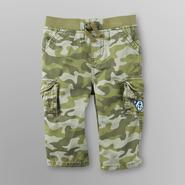 Route 66 Newborn Boy's Twill Cargo Pants - Camouflage at Kmart.com